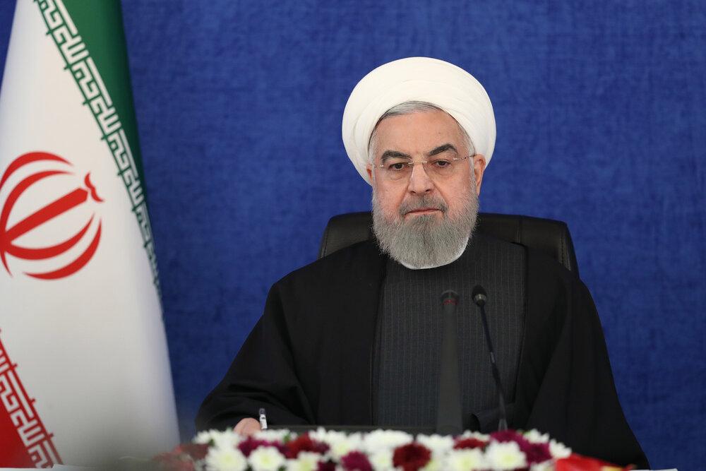 روحاني : نهاية أدارة ترامب مؤشر على ان الغطرسة لن تدوم