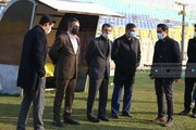 حضور مدیرعامل باشگاه پرسپولیس در تمرین قبل از دربی