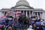 افبیآی اسناد حمله به کنگره را رو کرد؛تصویری از یک بمبگذار در واشنگتن/عکس