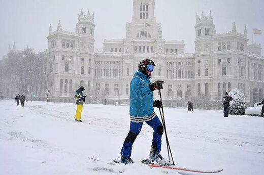 ببینید    بارش برف بیسابقه اسپانیا را فلج کرد