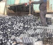 ۲۱۶ تن نوشابه انرژیزا قاچاق در آبادان معدوم شد