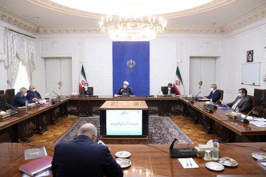 روحانی: با تخلف مقامها و دستگاههای رسمی از دستورالعملهای بهداشتی برخورد شود /پروتکل ها در استان های شمالی رصد شود