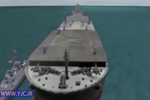 ببینید | قدرتنمایی خیرهکننده ایران در اقیانوس