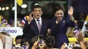 جاروکشی پادشاه تایلند و معشوقه جنجالیاش در زندان!/عکس