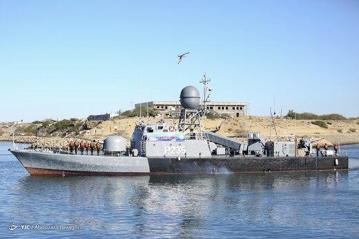 الحاق ناو موشک انداز «زره» به ناوگان جنوب نیروی دریایی ارتش