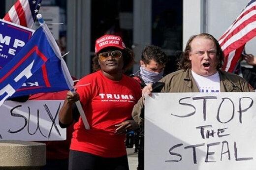 ببینید | حمله و فحاشی طرفداران ترامپ به نماینده دموکرات کالیفرنیا