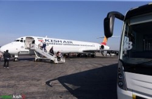 تعداد پروازهای عبوری ایران کاهش یافت