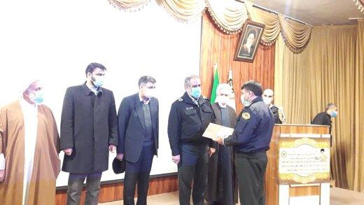 فرمانده جدید نیروی انتظامی فردیس معرفی شد
