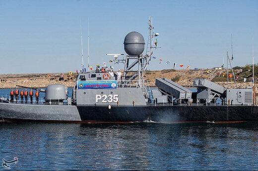 ببینید | الحاق ناو موشکانداز زره به ناوگان نیروی دریایی ارتش