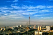 کیفیت هوای پایتخت امروز در محدوده قابل قبول است