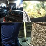 سرقت مسلحانه از طلافروشی در پرند/دزدان با پتک شیشه مغازه را شکستند