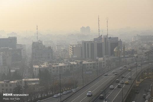 هوای ۶ شهر کشور ناسالم است