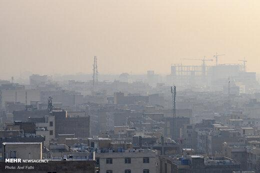 آلودگی هوای کرج