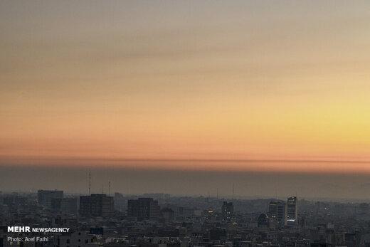بازگشت آلودگی هوا به مناطق پرتردد پایتخت