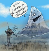 ببینید: دماوند و برج میلاد دوباره همدیگرو دیدن!