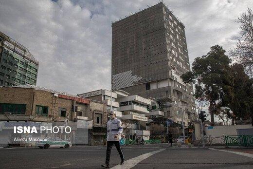 ساختمان «پلاسکو»، چهار سال پس از آتشسوزی مرگبار