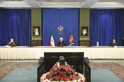 President Rouhani underlines importance of health protocols
