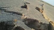 ببینید | پیگیری خبرآنلاین درباره علل فرونشست زمین در منطقه طاهرآباد کاشان