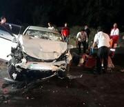 دو تصادف با یک کشته و ۳مصدوم در محورهای استان قزوین