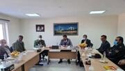بازدید جمعی از مسئولان قضایی کهگیلویه و بویراحمد از کارخانه سیمان مارگون