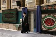 تصاویر | سومین شب عزاداری فاطمیه با حضور رهبر انقلاب در حسینیه امام خمینی (ره)