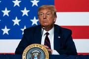 تمام لحظات جنجالی ترامپ در یک نگاه/عکس