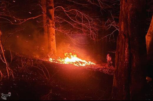 آتشسوزی در پارک ملی گلستان پس از ۴۸ ساعت مهار شد