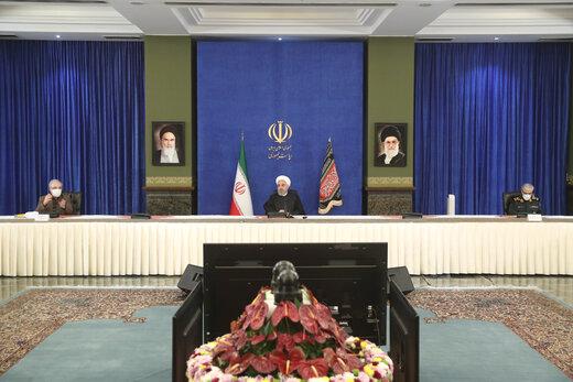 """الرئيس روحاني: لقاح """"باستور"""" المضاد لكورونا سيعرض في العام المقبل"""