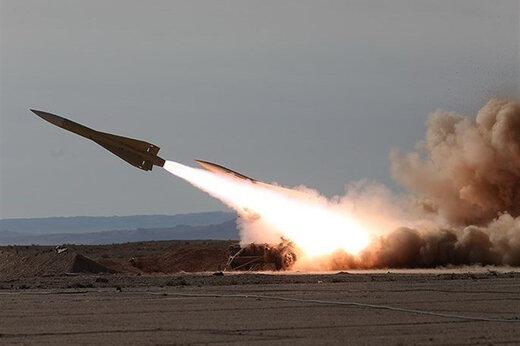 ببینید | لحظه جالب شلیک ۴۰۰ راکت در ۲۰ ثانیه در رزمایش ارتش