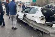 عکس | تصویری بسیار دلخراش از سانحه رانندگی در تهران