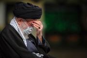 تصاویر   عزاداری شام شهادت حضرت زهرا (س) با حضور رهبر انقلاب