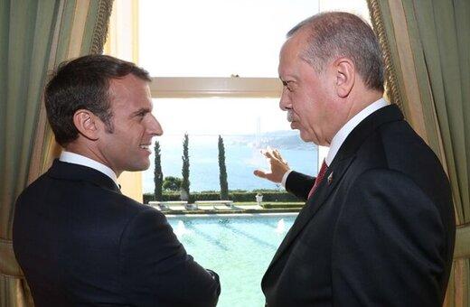 پیام ترکی مکرون به اردوغان