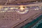 کمپ پارک ساحلی ناز، پایلوت ورزش های هوایی جزیره قشم