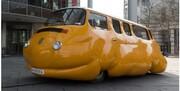 ماشینی که از چاقی رنج میبرد / عکس