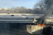 تصاویر | منشا دود اطراف ساختمان کنگره مشخص شد