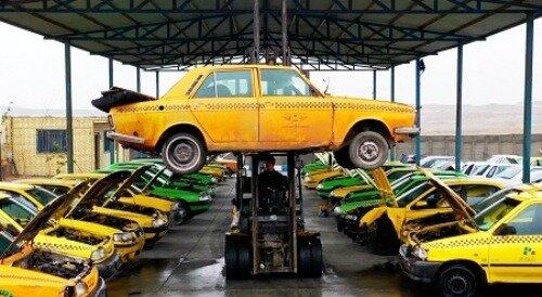 تخصیص ۷۵میلیون تومان تسهیلات برای نوسازی تاکسیهای پیکان فرسوده