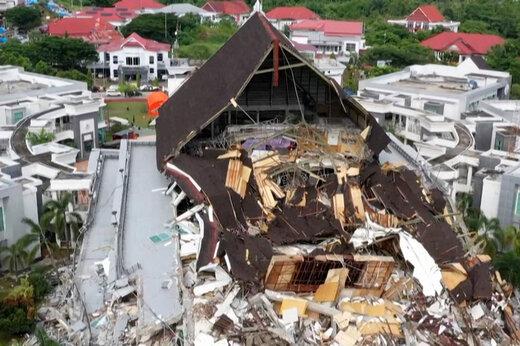 ببینید   لحظاتی تلخ از زمینلرزه اندونزی و جستجوی قربانیان
