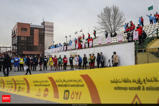 مسابقه دوی صحرانوردی آتش نشانان