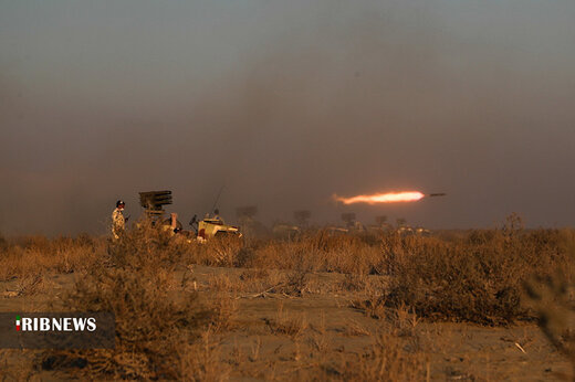 اجرای عملیات ترکیبی مشترک ارزیابی مهارت هوابرد نیروی زمینی ارتش