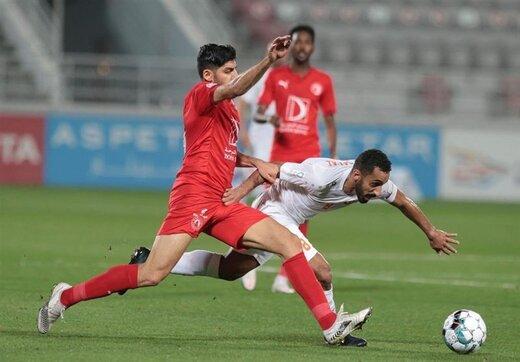 تساوی الدحیل، العربی و امصلال با بازیکنان ایرانی