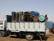 کشف ۳۰هزار لیتر سوخت قاچاق در بوئین زهرا