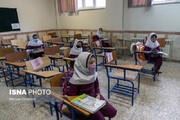 تصاویر | بازگشایی مدارس ابتدایی در روزهای کرونایی