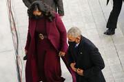 ببینید | اوباما وارد ساختمان کنگره شد