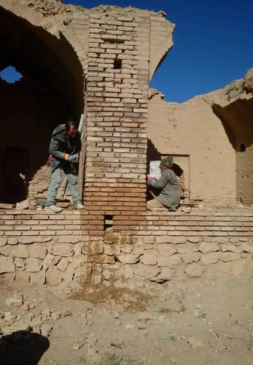 پایان فاز اول  مرمت و بهسازی کاروانسرای تاریخی بدشت شاهرود