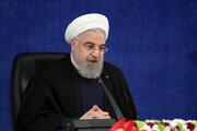 کنایه روحانی به ترامپ؛ آنهایی که میخواستند ایران را زمین بزنند دیگر نیستند