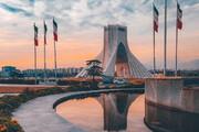 ببینید | تصویری دیدنی از میدان آزادی در هوای مطبوع تهران