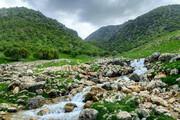 تصاویر | آبشارهای فصلی نگل، روستای سفید خانی، شهرستان سیروان در استان ایلام