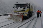 ببینید | بارش سنگین برف در شهرستان کوهرنگ