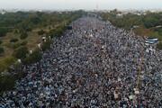 ببینید | خروش میلیونها پاکستان علیه رژیم صهیونیستی