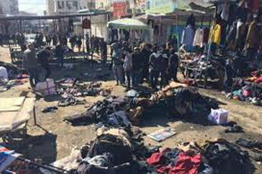 ببینید | تصاویری از عامل انتحاری انفجار دوم دیروز بغداد